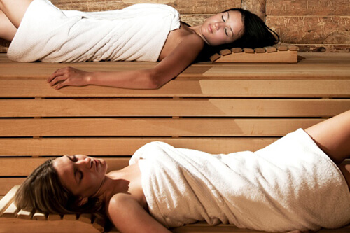 Chmpion sauna sucha