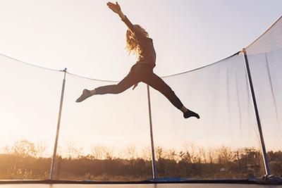 Champion trampoliny